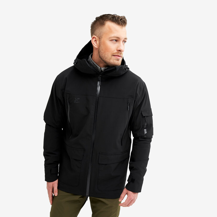 Monsoon Jacket Black Men