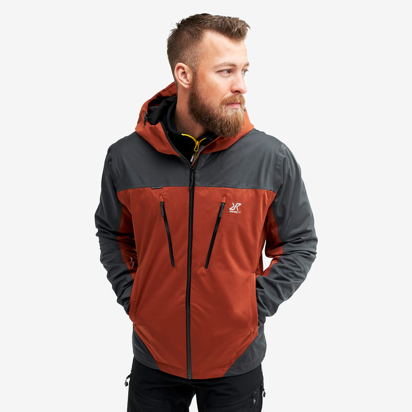 Silence Proshell Jacket Rusty Orange Men