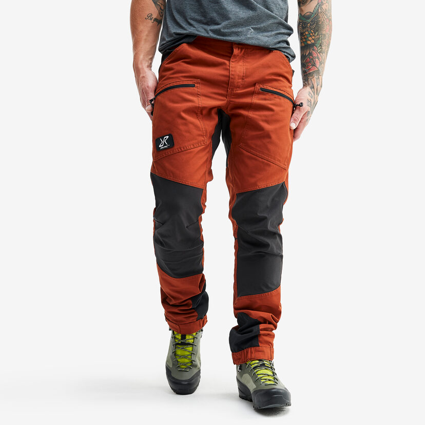 Nordwand Pro Trousers Rusty Orange Men