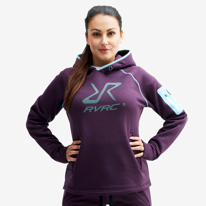 Bivouac Hoodie Blackberry Wine Women