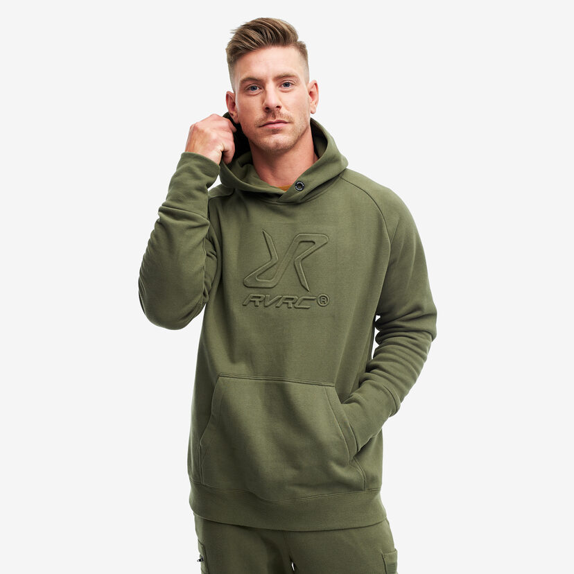 Slacker Hoodie Olive Night Men