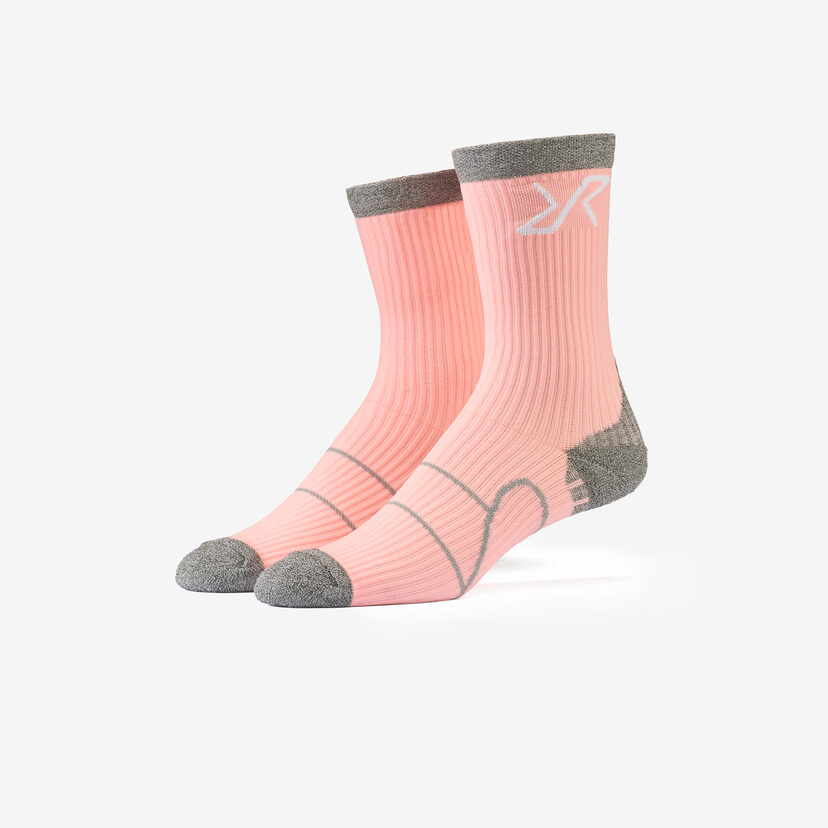 Walking Sock Dusty Pink Women