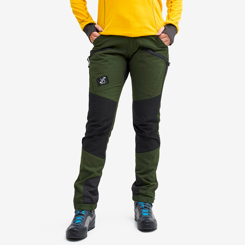 Nordwand Pro Pants Forest Green Women