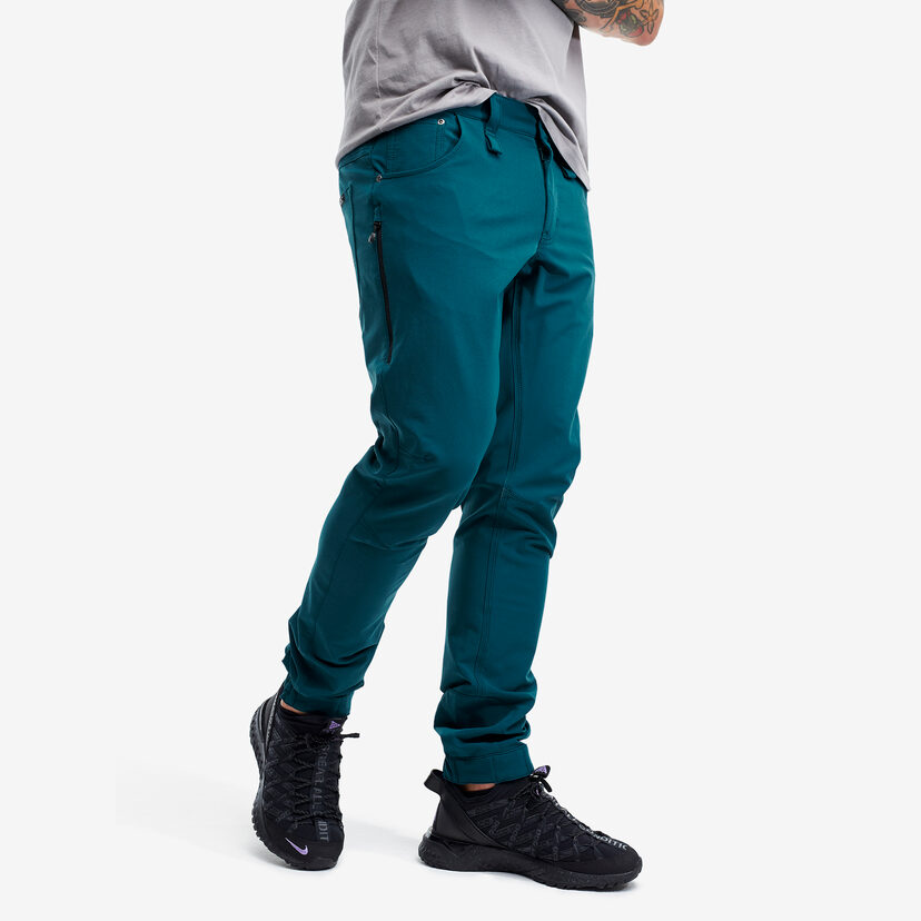 Explorer  Outdoor Jeans Deep Turquoise Men