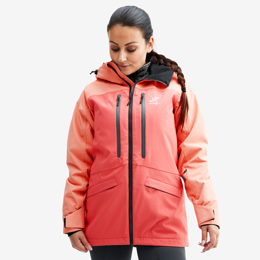 Flow Jacket Peach/Rose Women