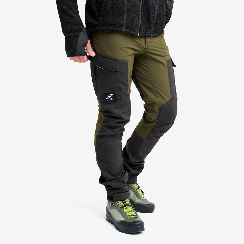 Gpx Trousers Dark Olive Men