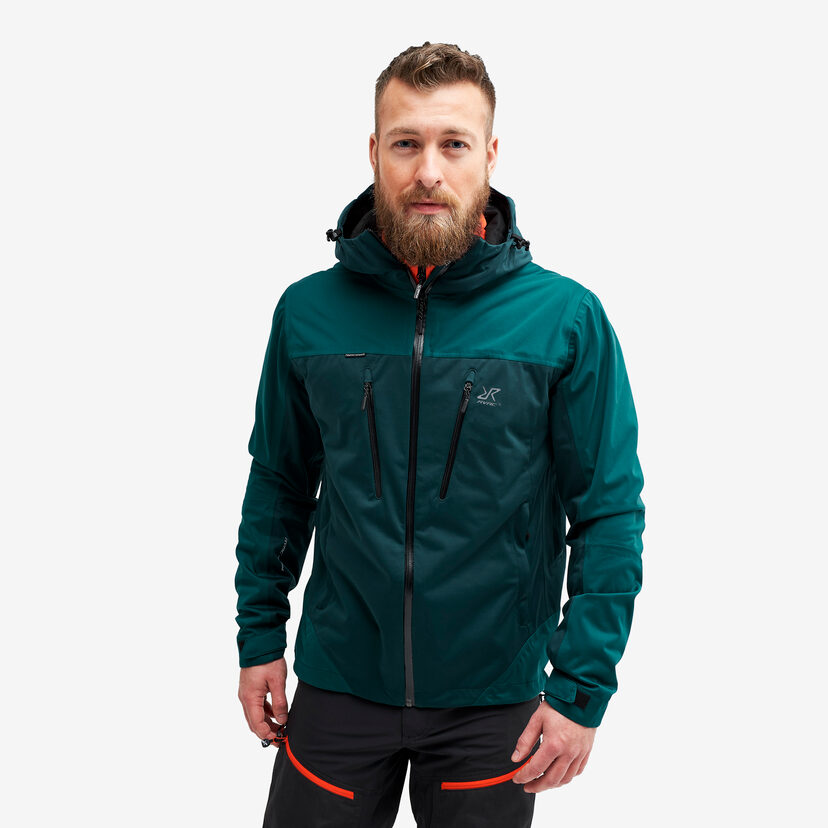 Silence Proshell Jacket Deep Teal Men