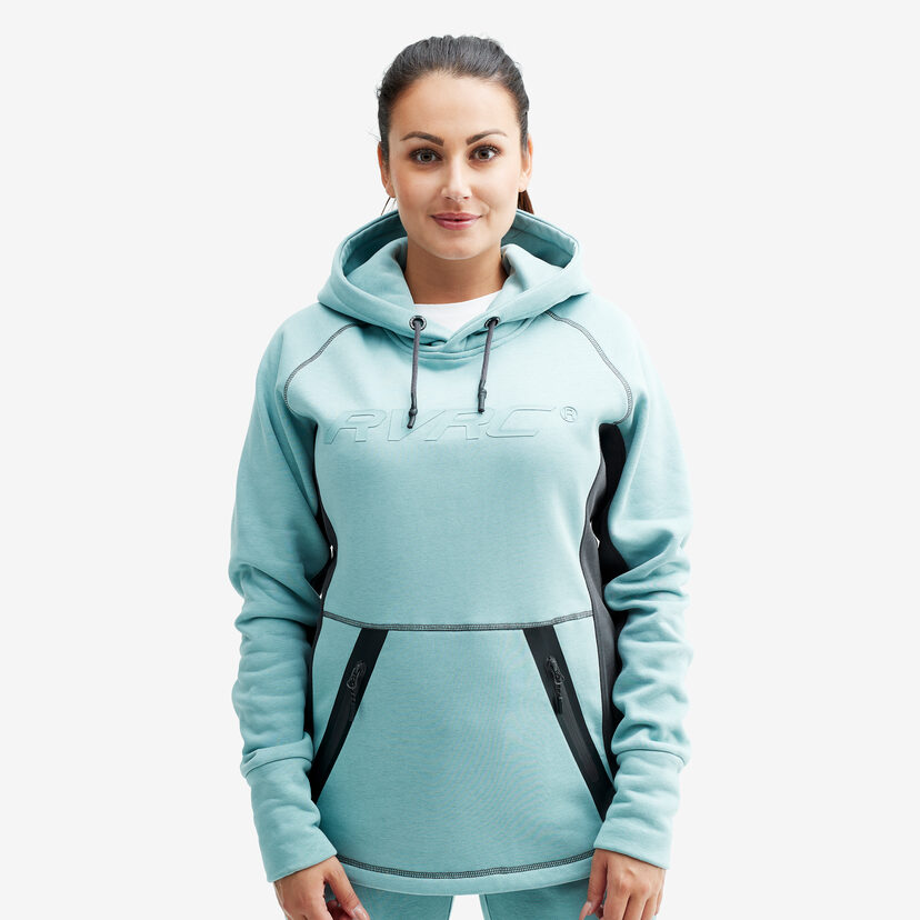 Elements Hoodie Stone Blue Women