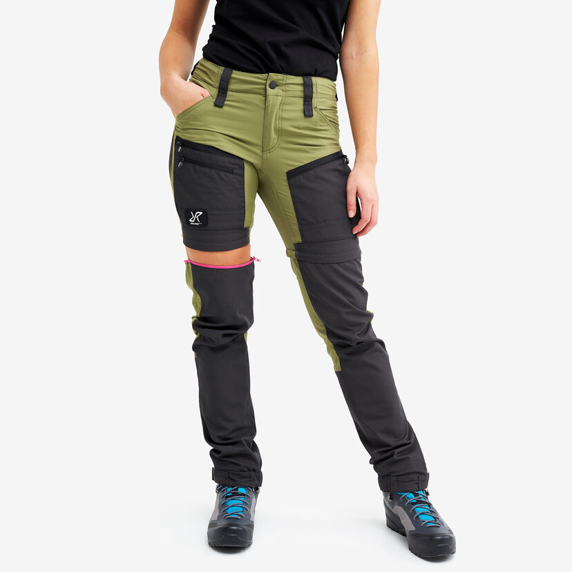 Gpx Pro Zip-off Pants Pine Green Women