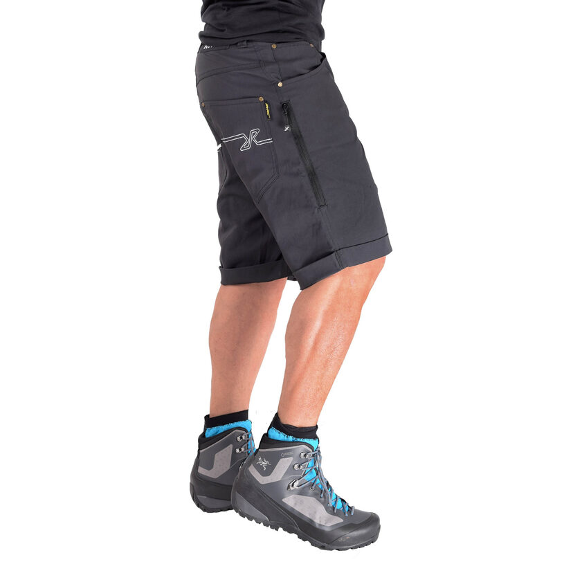 Twisted Outdoor Shorts Anthracite Men