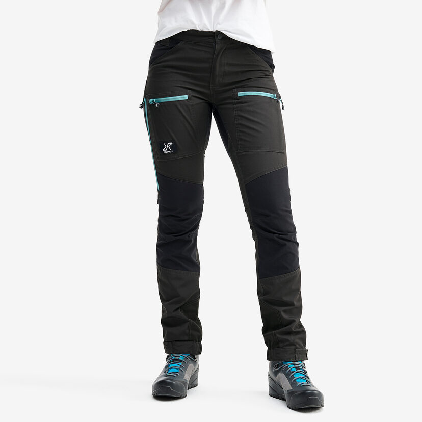 Nordwand Pro Pants Anthracite/Misty Blue Dam