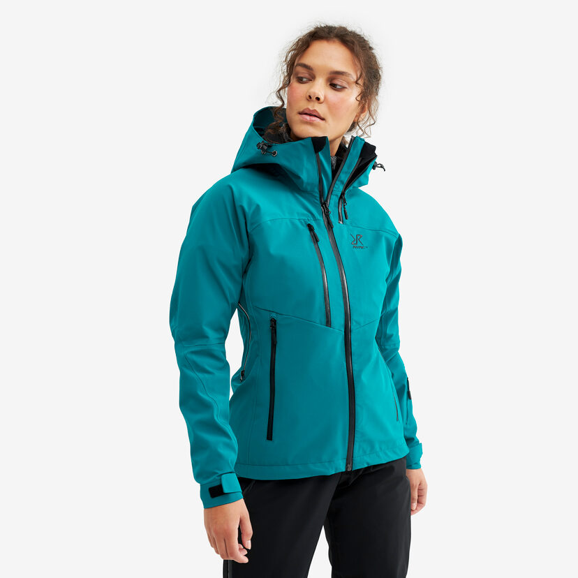 Cyclone Rescue Jacket 2.0 Dark Turquoise Women