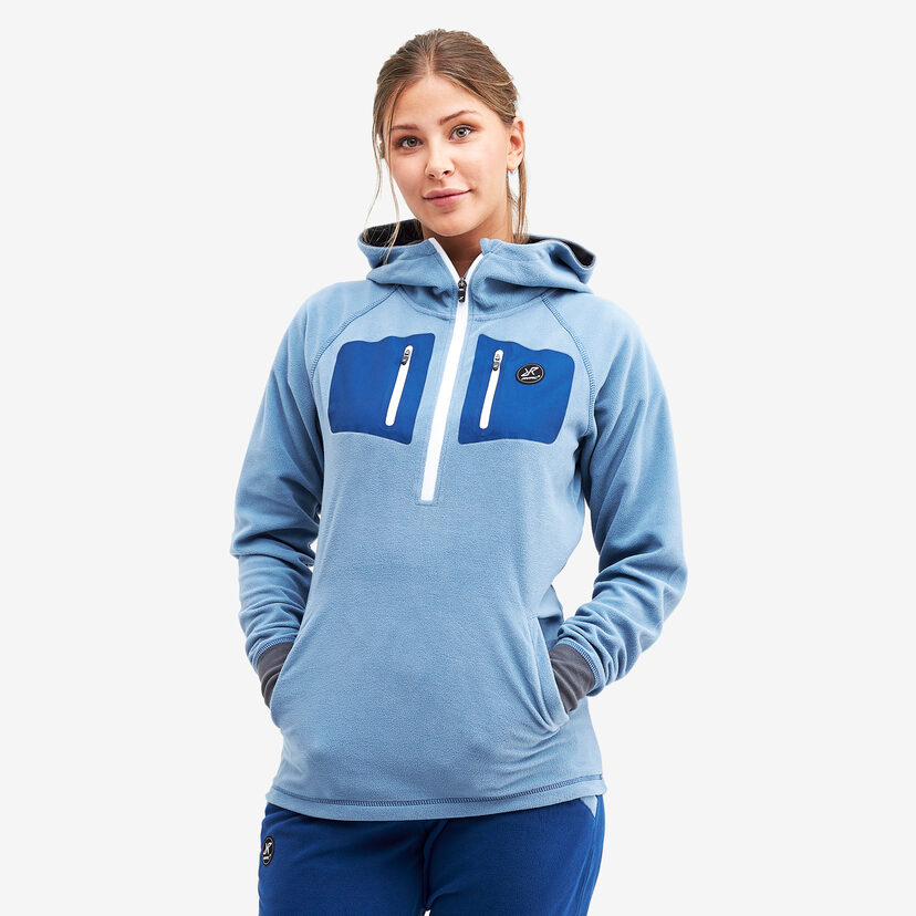 Cryptonite Hoodie Coronet Blue Women