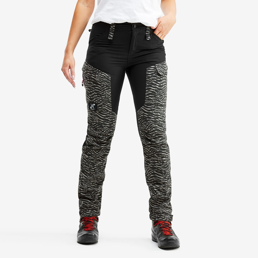 Gpx Pants Dark Zebra Women