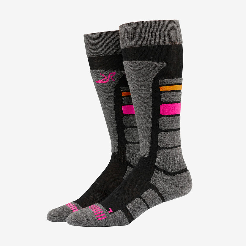 Ski Sock Dark Grey Women