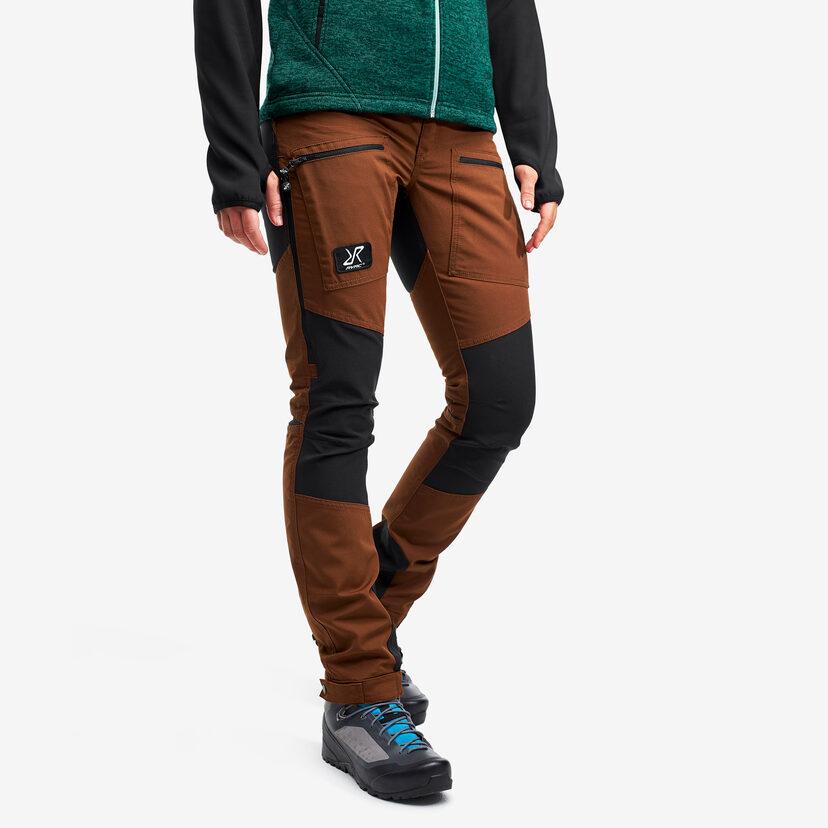 Nordwand Pro Pants Espresso Brown Women