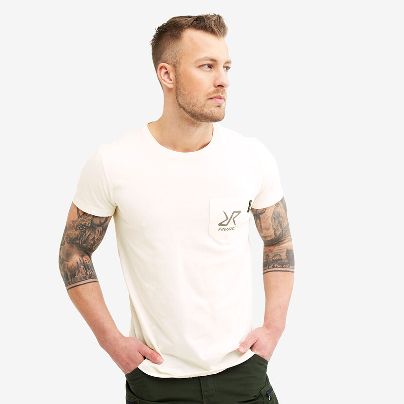 Fat Logo Tee White Men