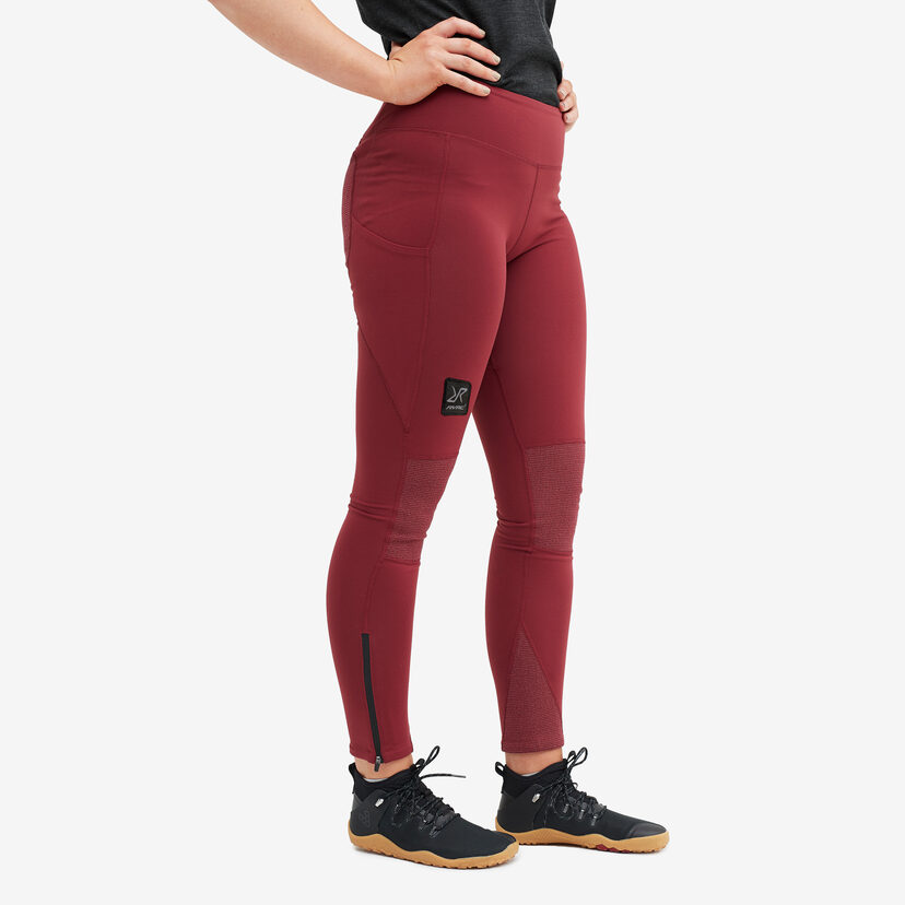 Summit Tights Bison Blood Women