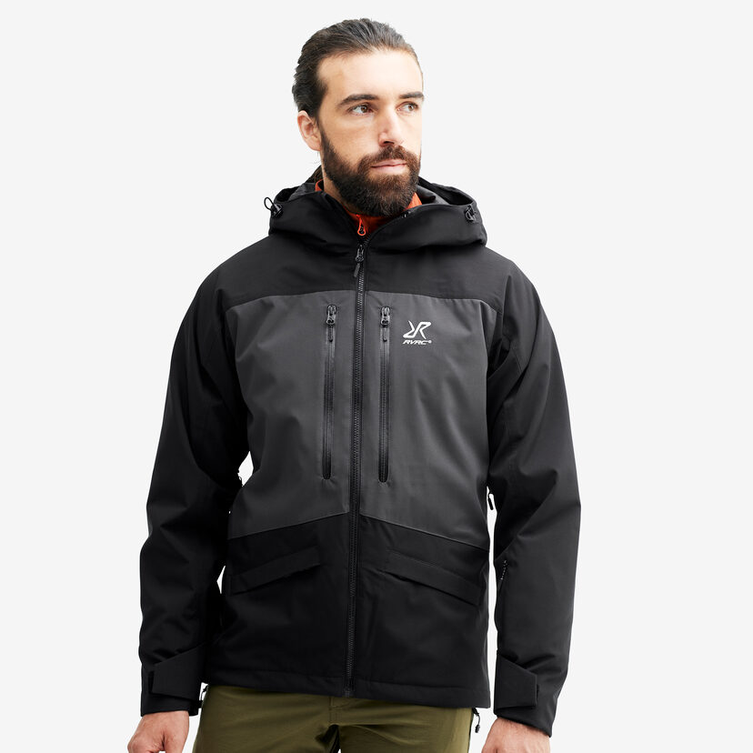 Flow Jacket Black/Anthracite Men