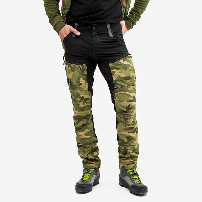 Gpx Pro Pants Jetblack/Green Camo Men