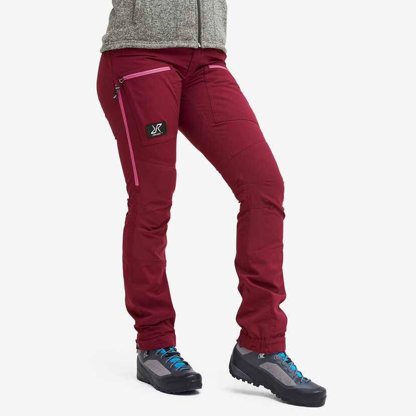 Nordwand Pro Pants Bison Blood Women