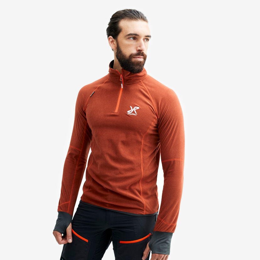 Trekker Fleece Rusty Orange Men