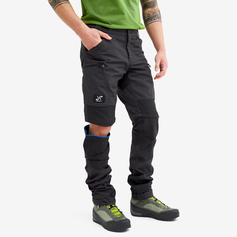 Nordwand Pro Zip-off Pants Anthracite Men