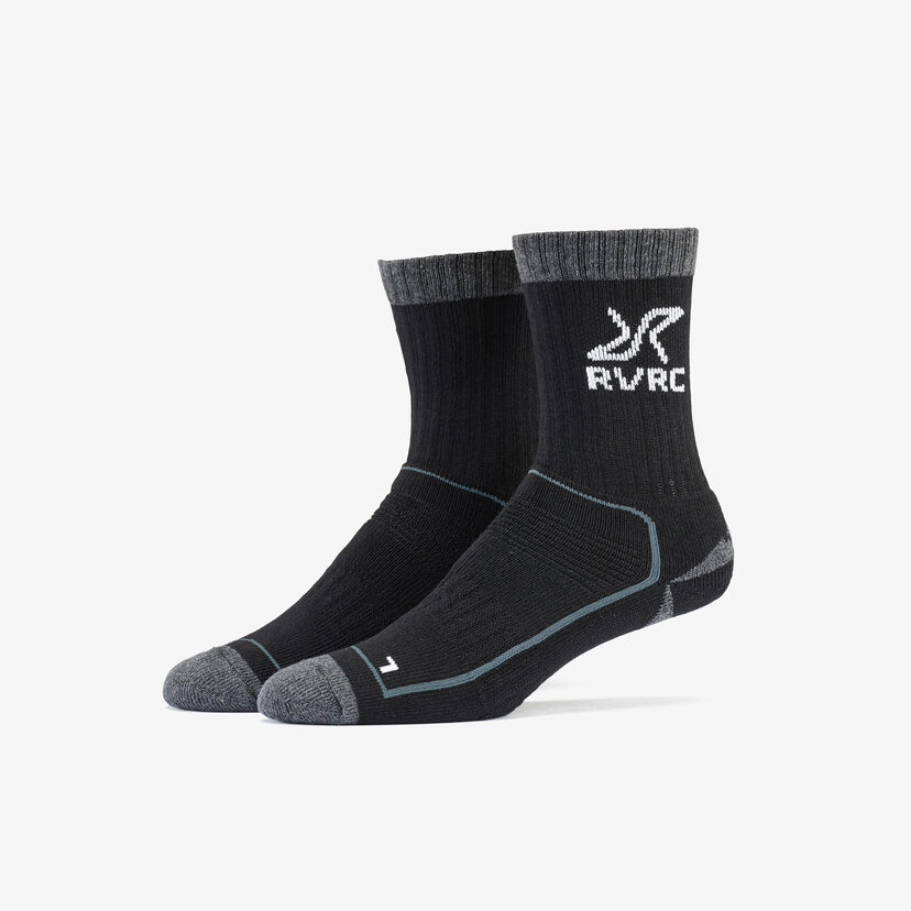 Wander Sock Black/Grey Women