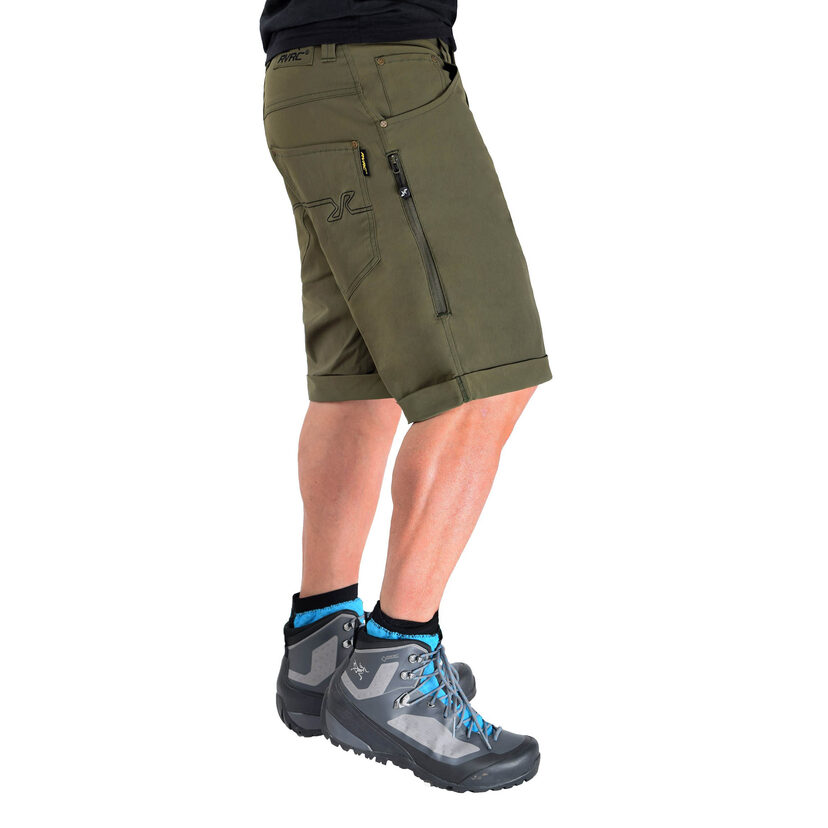 Twisted Outdoor Shorts Olive Night Herr