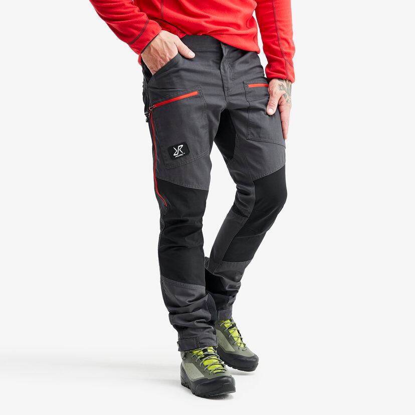 Nordwand Pro Trousers Gunmetal/Red Men