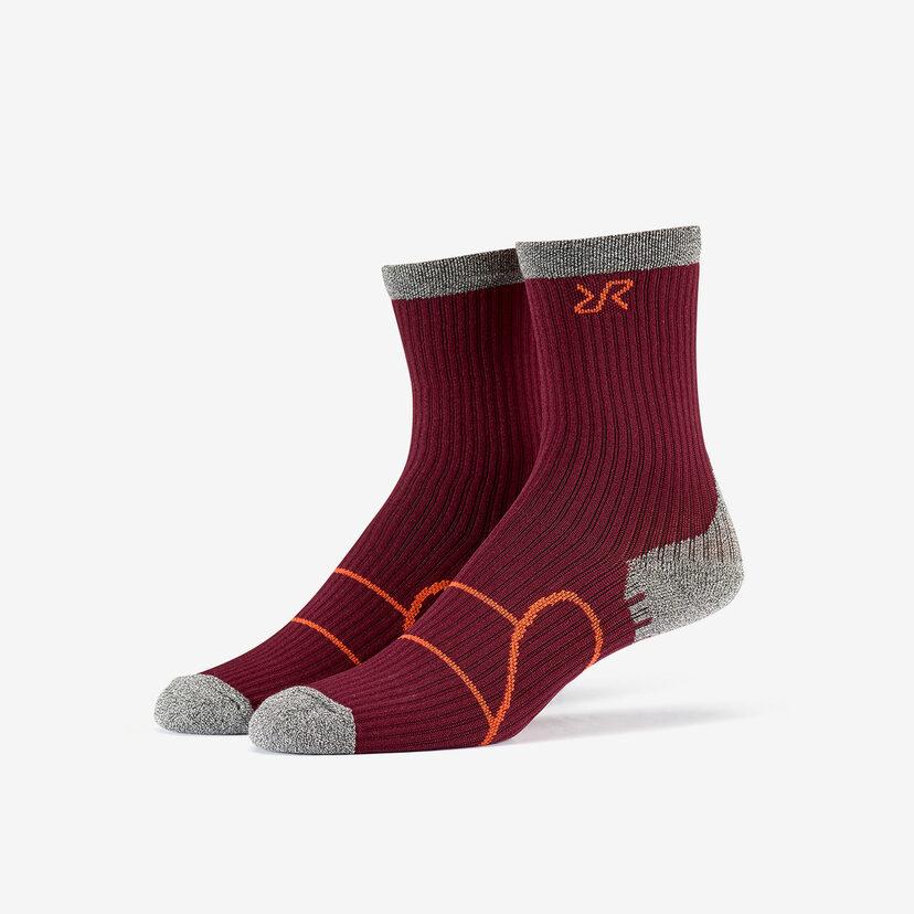 Walking Sock Bison Blood Women