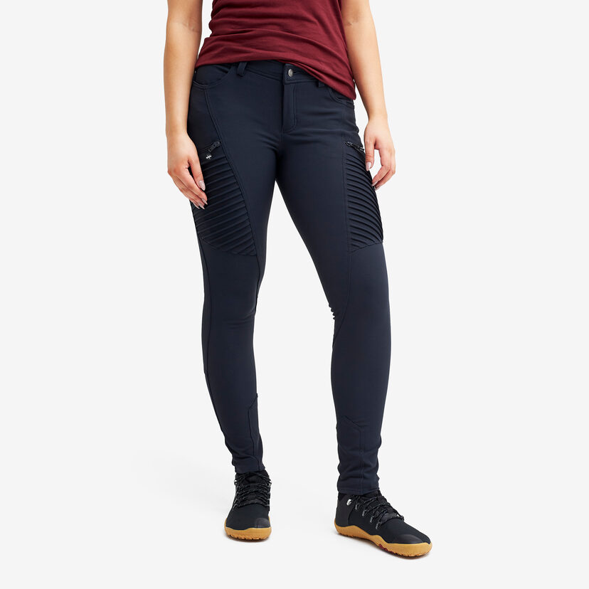 Pusher Outdoor Jeans Navy Women