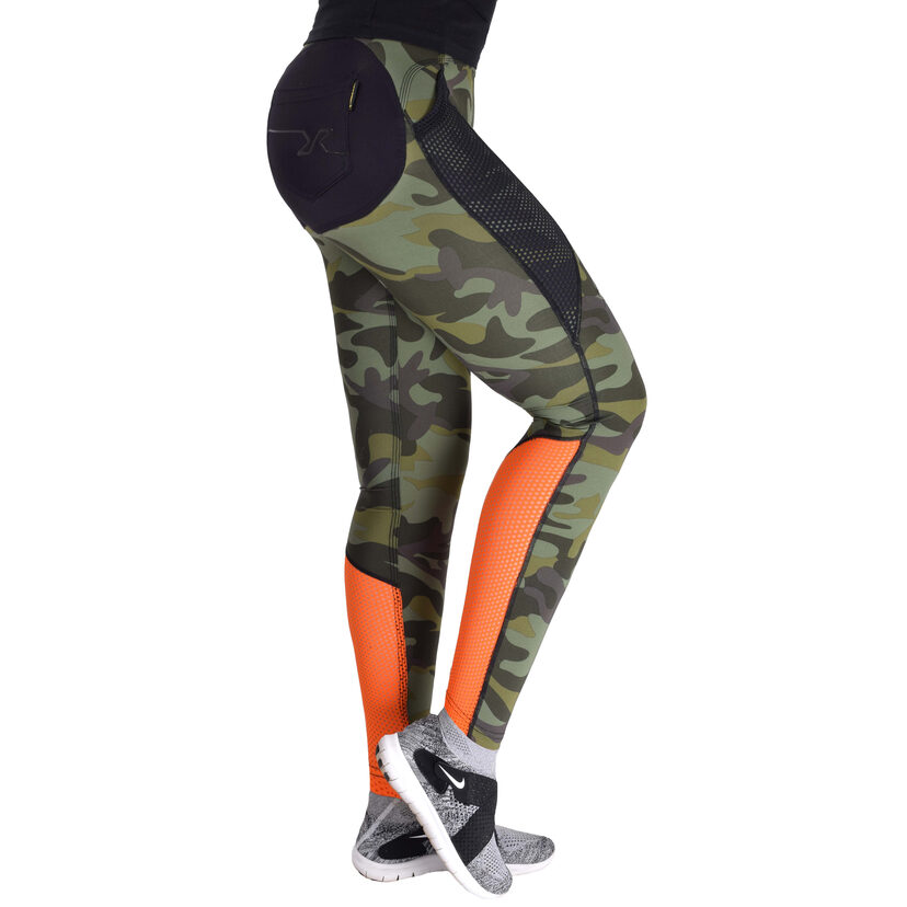 Intense Tights Green Camo Women