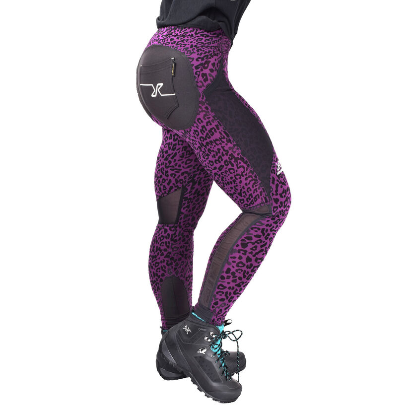 Outdoor Tights Purple Leo Women