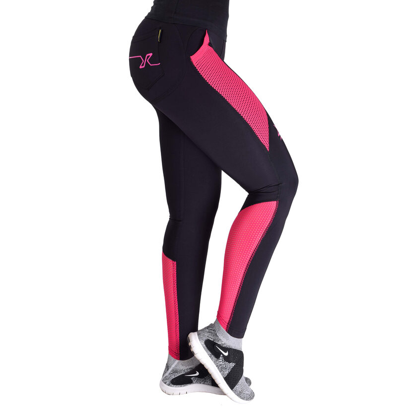 Intense Tights Black/Pink Women