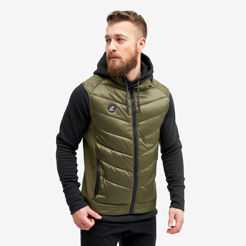 Rocket Vest Dark Olive Men