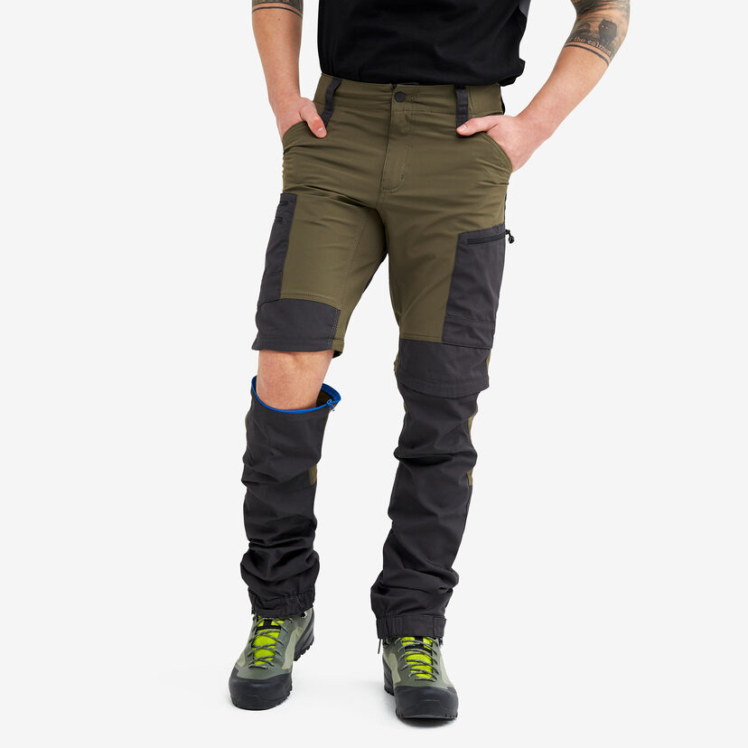 Gpx Pro Zip-off Pants Dark Olive Men