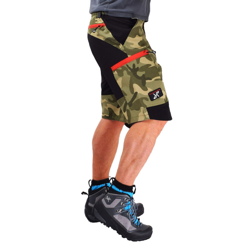 Nordwand Shorts Green Camo Men