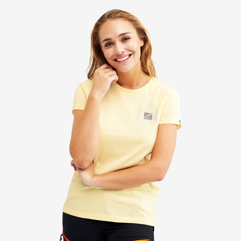 Breeze Tee Pale yellow Women