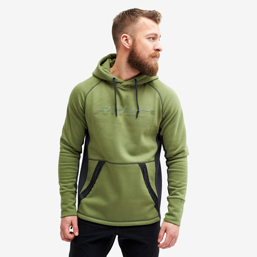 Elements Hoodie Pine Green Men