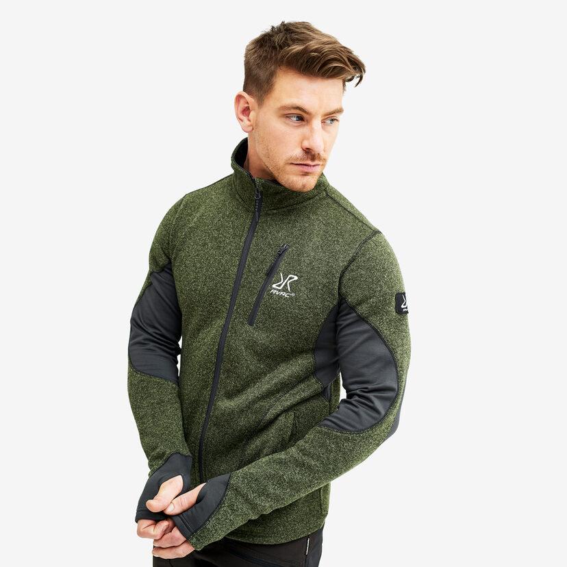 Fusion Fleece Rifle Green Herr