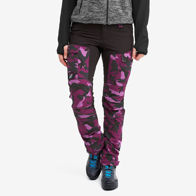 Gpx Trousers Crazy Purple Women