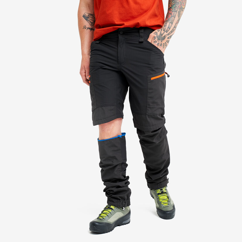 Gpx Pro Zip-off Pants Grey/Orange Men