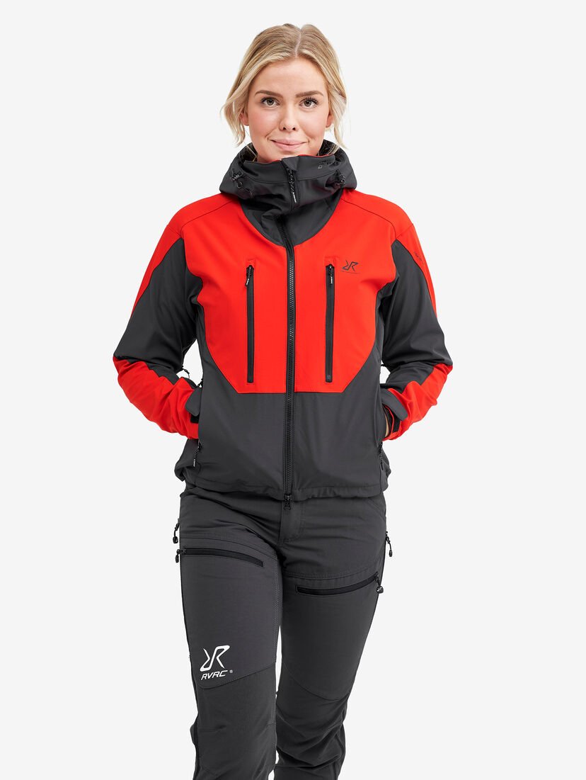 Hurricane Jacket Formula 1 Red Women