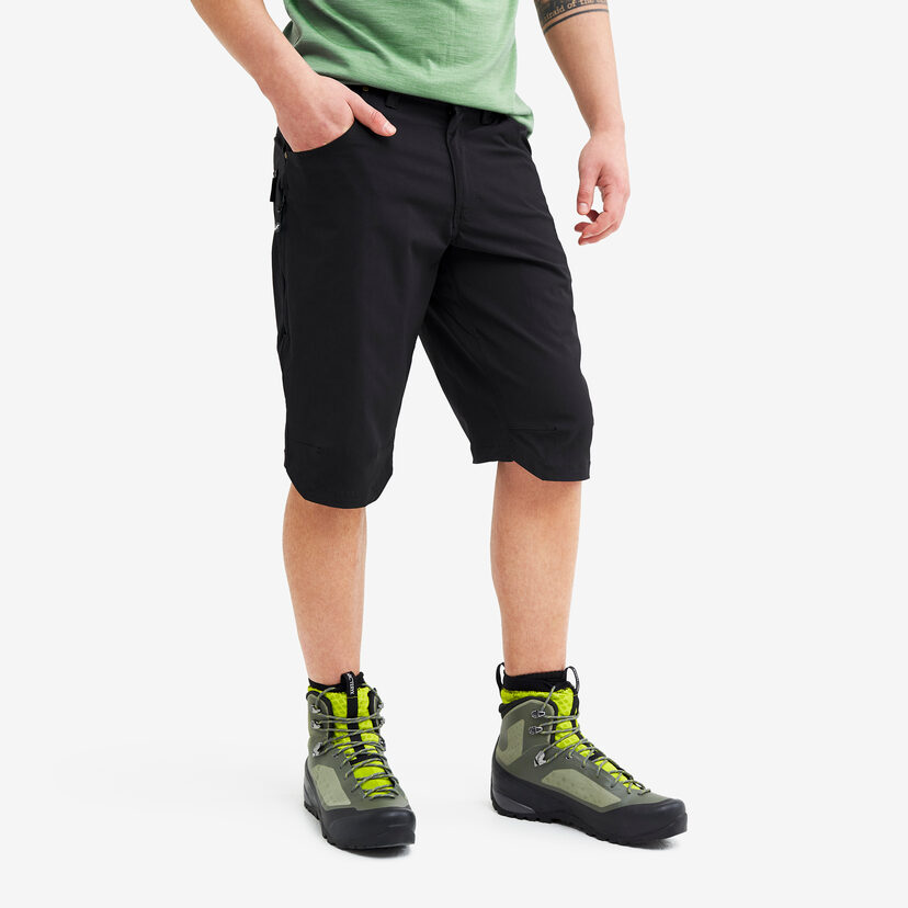 Twisted Outdoor Shorts 2.0 Black Herr