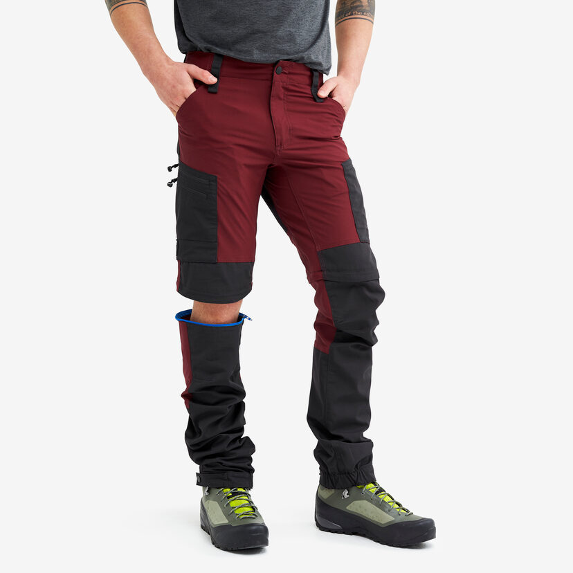 Gpx Pro Zip-off Pants Bison Blood Men