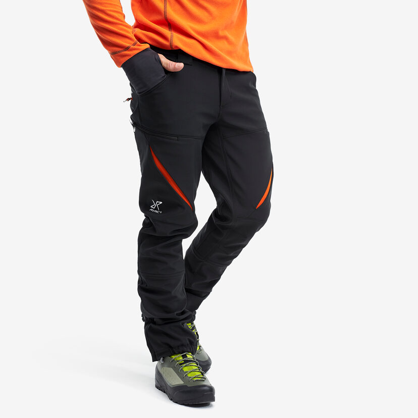 Hiball Trousers Black/Orange Men