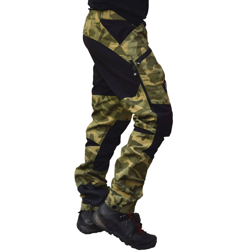 Nordwand Pro Pants Green Camo Men