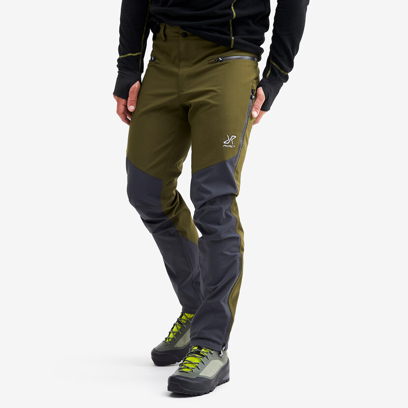 Silence Proshell 2.0 Trousers Dark Olive Men