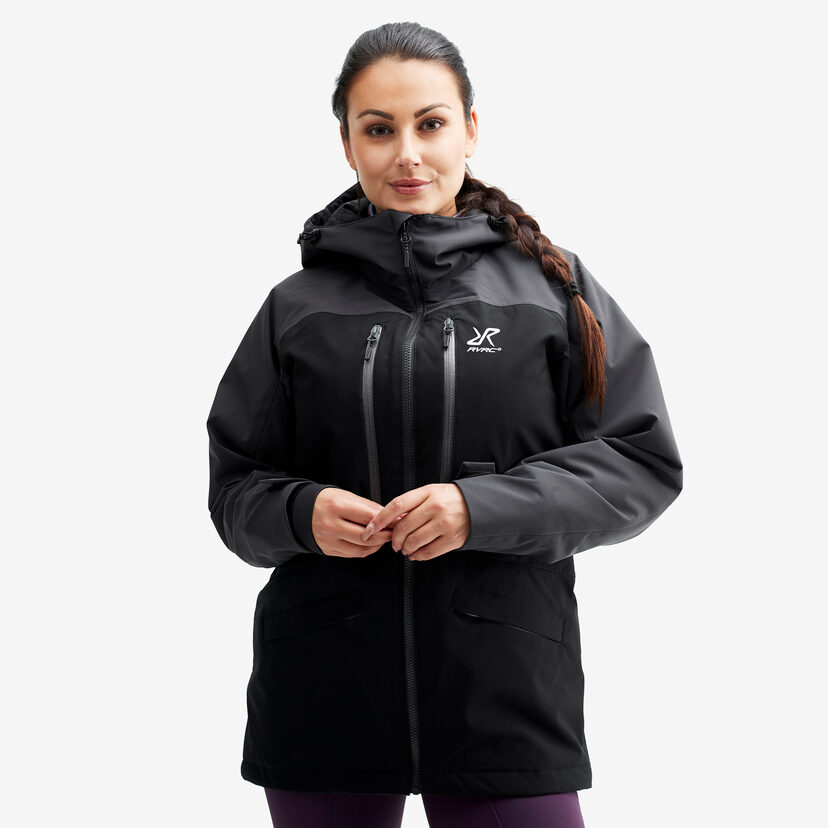 Flow Jacket Black/Anthracite Women
